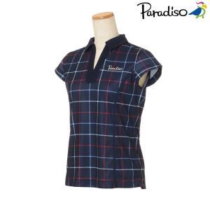 パラディーゾ PARADISO テニスウェア レディース 半袖シャツ KCL03A 2018FW[ポスト投函便対応]|kpi