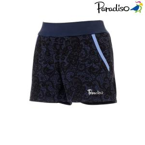 パラディーゾ PARADISO テニスウェア レディース ショートパンツ KCL03S 2018FW[ポスト投函便対応]|kpi