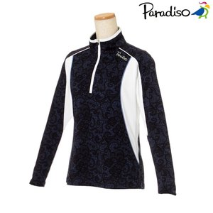 パラディーゾ PARADISO テニスウェア レディース 長袖シャツ KCL06F 2018FW[ポスト投函便対応]|kpi