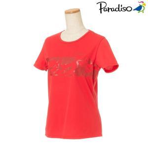 パラディーゾ PARADISO テニスウェア レディース 半袖シャツ KCL23A 2018FW[ポスト投函便対応]|kpi