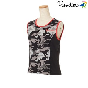 パラディーゾ PARADISO テニスウェア レディース 半袖シャツ KCL63A 2018FW[ポスト投函便対応]|kpi
