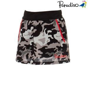 パラディーゾ PARADISO テニスウェア レディース スコート KCL64L 2018FW[ポスト投函便対応]|kpi