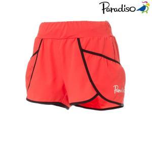 パラディーゾ PARADISO テニスウェア レディース ショートパンツ KCL65S 2018FW[ポスト投函便対応]|kpi
