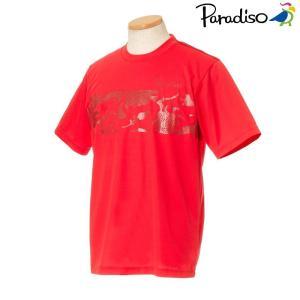 パラディーゾ PARADISO テニスウェア メンズ 半袖シャツ KCM21A 2018FW[ポスト投函便対応]|kpi