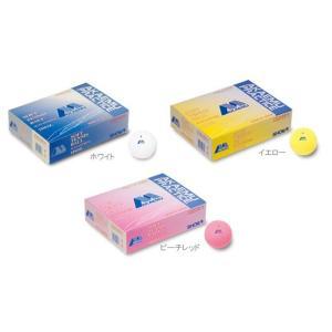 昭和ゴム(SHOWA/ショーワ)アカエムプラクティス 1ダース(ソフトテニスボール)練習球