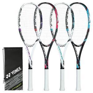 「ガット張り上げ済」 ヨネックス YONEX ソフトテニスラケット マッスルパワー200XF MUS...