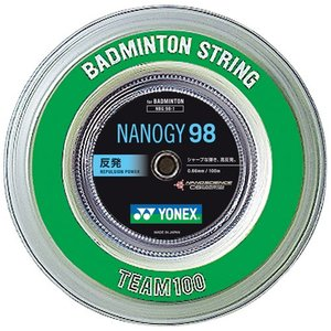 YONEX ヨネックス ロールガット ナノジー98 NANOGY 98 100mロール NBG98-1バドミントンストリング ガット