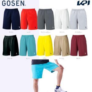 テニスウェア ユニセックス ゴーセン GOSEN ハーフパンツ PP1600 2016SS テニコレ掲載 2017モデル