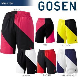 「2017新製品」GOSEN ゴーセン 「UNI ゲームパンツ PP1700」テニスウェア「2017SS」[ポスト投函便対応]|kpi