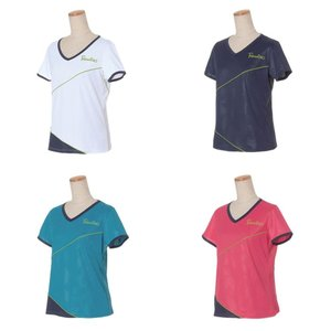 パラディーゾ PARADISO テニスウェア レディース 半袖シャツ QCL62A 2019FW[ポスト投函便対応]|kpi