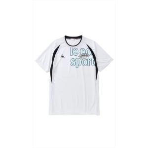 ルコック le coq sportif 健康・ボディケアウェア メンズ 半袖シャツ QMMMJA02-WHT 2018FW[ポスト投函便対応]|kpi