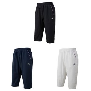 ルコック le coq sportif テニスウェア メンズ 6分丈パンツ QTMNJD40ZZ 2019SS|kpi