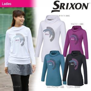 SRIXON(スリクソン)「WOMEN'S PREMIER LINE LONG SLEEVE T-SHIRT(レディース ロングスリーブTシャツ)SDL-8663W」テニスウェア「2016FW」