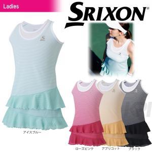 SRIXON スリクソン 「WOMEN'S TOUR LINE レディース ワンピース SDP-1721W」テニスウェア「SS」 『即日出荷』 kpi
