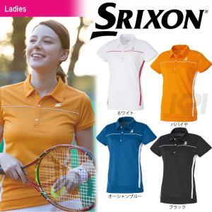 テニスウェア レディース スリクソン SRIXON WOMEN'S CLUB LINE ポロシャツ SDP-1728W 2017SS 2017新製品 [ポスト投函便対応] kpi