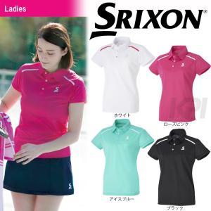 テニスウェア レディース スリクソン SRIXON WOMEN'S CLUB LINE ポロシャツ SDP-1729W 2017SS 2017新製品 [ポスト投函便対応] kpi