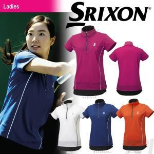 SRIXON スリクソン 「WOMEN'S レディース TOUR LINE ジップシャツ SDP-1761W」テニスウェア「FW」[ポスト投函便対応] 『即日出荷』 kpi