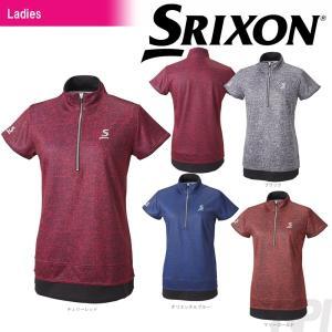 SRIXON スリクソン 「WOMEN'S レディース TOUR LINE ジップシャツ SDP-1766W」テニスウェア「FW」[ポスト投函便対応] 『即日出荷』 kpi