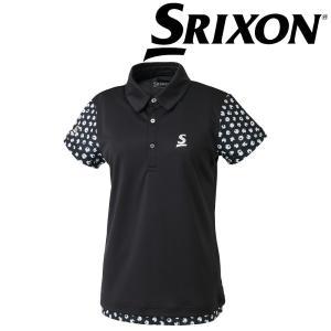 スリクソン SRIXON テニスウェア レディース ポロシャツ SDP-1865W 2018FW[ポスト投函便対応] 『即日出荷』 kpi