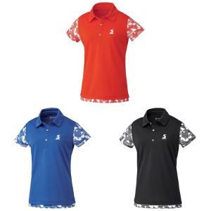 スリクソン SRIXON テニスウェア レディース ポロシャツ SDP-1928W 2019SS [ポスト投函便対応] 『即日出荷』 kpi