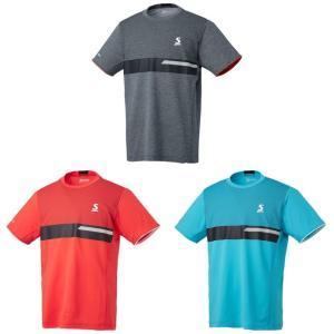 スリクソン SRIXON テニスウェア ユニセックス ゲームシャツ SDP-1940 2019FW 『即日出荷』 [ポスト投函便対応] kpi
