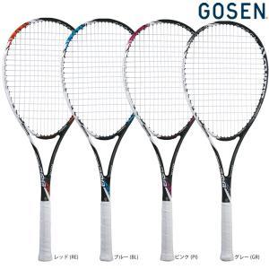ゴーセン GOSEN ソフトテニスソフトテニスラケット  AXTHIES 300 アクシエス 300 ガット張り上げ済み SRA3-1|kpi