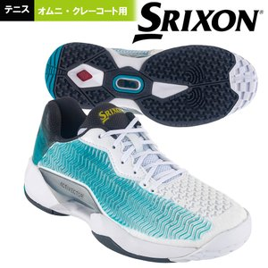 スリクソン SRIXON テニスシューズ レディース ACTIVECTOR OMNI&CLY  アクティベクター  オムニ・クレーコート用 SRS1013-WB|kpi