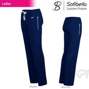 テニスウェア レディース ソフィベラ Sofibella Supplex Staples Collection サプレックスコレクション Pant SU1074 FW|kpi
