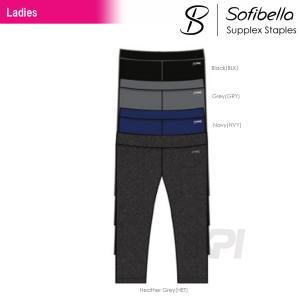 テニスウェア レディース ソフィベラ Sofibella Supplex Staples Collection サプレックスコレクション Basic Capri SU9023S SS|kpi