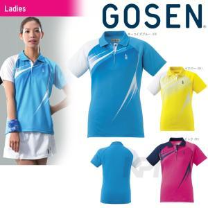 ゴーセン GOSEN テニスウェア レディースゲームシャツ T1601 2016SS|kpi