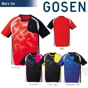 GOSEN ゴーセン 「UNI ゲームシャツ T1704」テニスウェア「2017SS」[ポスト投函便対応]|kpi