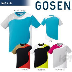 GOSEN ゴーセン 「UNI ゲームシャツ T1708」テニスウェア「2017SS」[ポスト投函便対応]|kpi