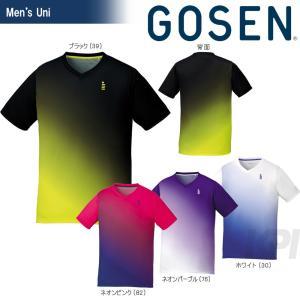 GOSEN ゴーセン 「UNI ゲームシャツ T1716」テニスウェア「2017SS」[ポスト投函便対応]|kpi