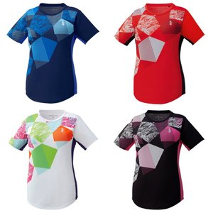 ゴーセン GOSEN テニスウェア レディース ゲームシャツ T1905 2019SS[ポスト投函便対応][ポスト投函便対応]|kpi