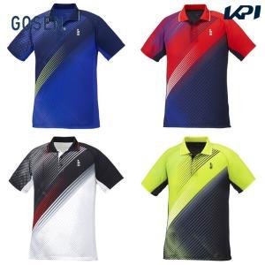 ゴーセン GOSEN テニスウェア ユニセックス ゲームシャツ T1940 2019FW[ポスト投函便対応]|kpi