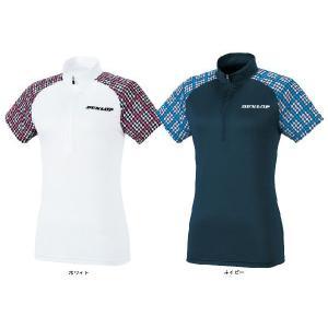 ダンロップ DUNLOP テニスウェア LADIES' レディースジップシャツ TDP-1420W|kpi