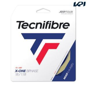 テクニファイバー Tecnifibre テニスガット・ストリング  X-ONE BIPHASE  エックスワンバイフェイズ  1.18mm TFG200 [ポスト投函便対応]|kpi
