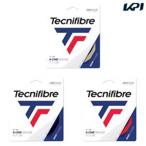 テクニファイバー Tecnifibre テニスガット・ストリング  X-ONE BIPHASE  エックスワンバイフェイズ  1.24mm TFG201 [ポスト投函便対応]|kpi