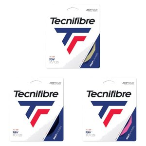 テクニファイバー Tecnifibre テニスガット・ストリング  TGV  ティージーブイ  1.25mm TFG205 [ポスト投函便対応]|kpi