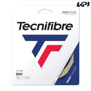 テクニファイバー Tecnifibre テニスガット・ストリング  TGV  ティージーブイ  1.35mm TFG207 [ポスト投函便対応]|kpi