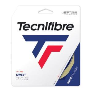 テクニファイバー Tecnifibre テニスガット・ストリング  NRG2 エヌアールジースクエア  1.24mm TFG211 [ポスト投函便対応]|kpi