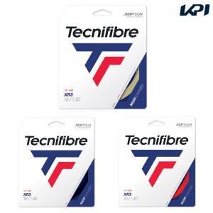 テクニファイバー Tecnifibre テニスガット・ストリング  XR3 単張 1.30mm TFG216 [ポスト投函便対応]|kpi