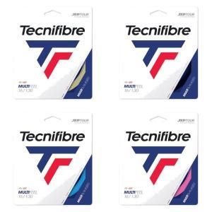 テクニファイバー Tecnifibre テニスガット・ストリング  MULTIFEEL  マルチフィール  1.30mm TFG221 [ポスト投函便対応]|kpi