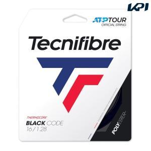 テクニファイバー Tecnifibre テニスガット・ストリング  BLACK CODE  ブラックコード  1.28mm TFG412 [ポスト投函便対応]|kpi