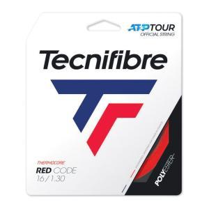 テクニファイバー Tecnifibre テニスガット・ストリング  REDCODE  レッドコード  1.30mm TFG417 [ポスト投函便対応]|kpi