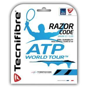 Tecnifibre テクニファイバー 「RAZOR CODE 1.25 レーザーコード1.25  TFG514」テニスストリング ガット [ポスト投函便対応]|kpi