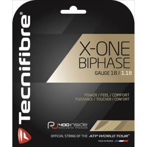 Tecnifibre テクニファイバー 「X-ONE BIPHASE エックスワンバイフェイズ  TFG900」硬式テニスストリング ガット  [ポスト投函便対応]|kpi