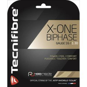 Tecnifibre テクニファイバー 「X-ONE BIPHASE エックスワンバイフェイズ  TFG902」硬式テニスストリング ガット [ポスト投函便対応]|kpi