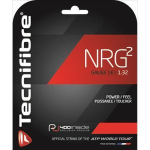 Tecnifibre テクニファイバー 「NRG2 エヌアールジースクエア  TFG905」硬式テニスストリング ガット [ポスト投函便対応]|kpi