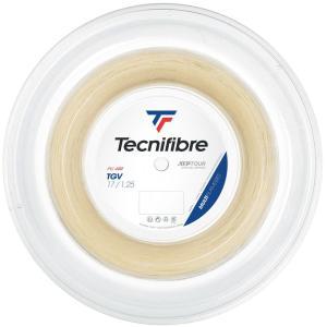 テクニファイバー Tecnifibre テニスガット・ストリング  TGV  ティージーブイ  1.25mm  200mロール TFR205|kpi